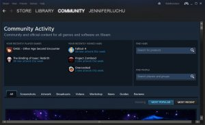 Steam Community Homepage